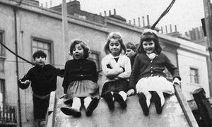 7 Up, Michael Apted's original 1964 documentary following a group of British children. Our most recent meeting with them was in 56 Up.