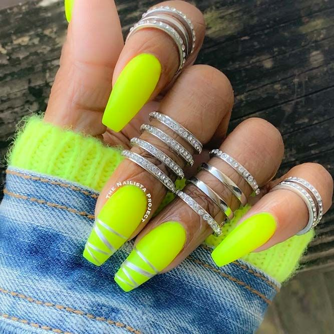 30 Perfect Coffin Acrylic Nails Designs To Sport This Season