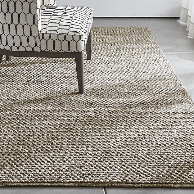 Crate And Barrel Desi Rug: Inspired By The Look Of Thick, Knotted Rope, Yvonne