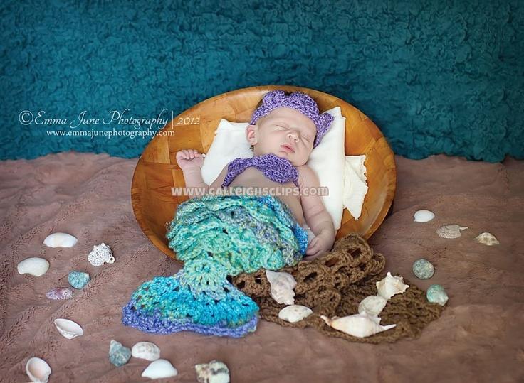 Mermaid Princess Crocodile Stitch - Cuddle Critter Cape Set  - Newborn Prop. $50.00, via Etsy.