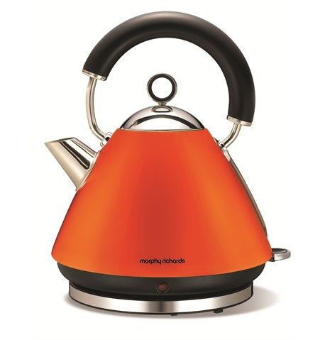 Accents Orange Traditional Kettle
