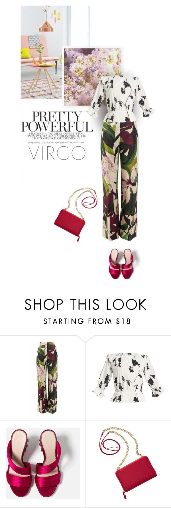 """Pretty in Florals"" by annasalenkova on Polyvore featuring Erika Cavallini Semi-Couture and TravelSmith"