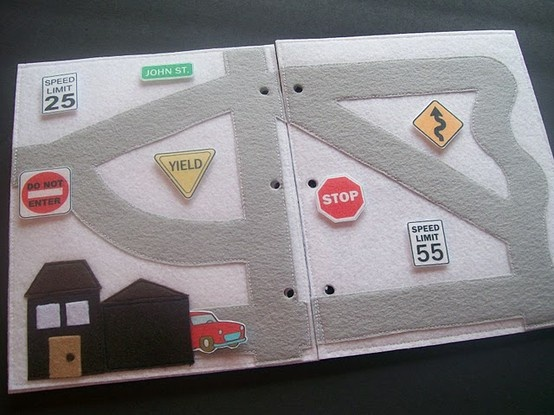 """I can't wait to have kids just so I can make this! I can imagine all the other felt """"pages"""" we could create."""