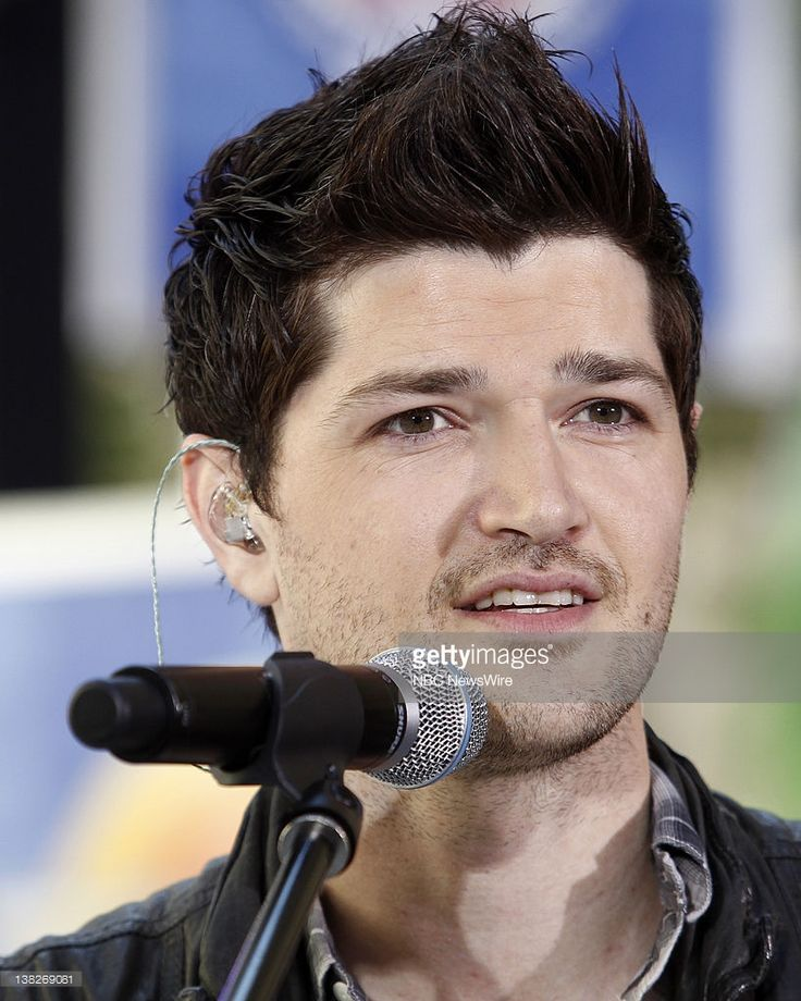 Danny O'Donoghue of the music group The Script performs on NBC News' 'Today'…