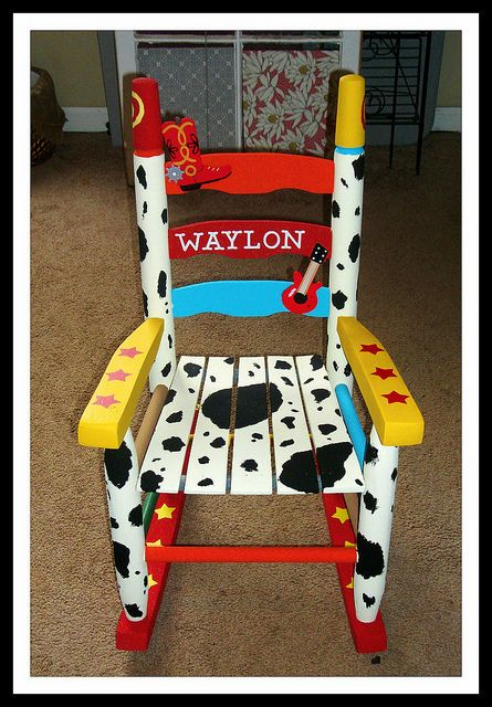 17 Best Ideas About Painted Rocking Chairs On Pinterest