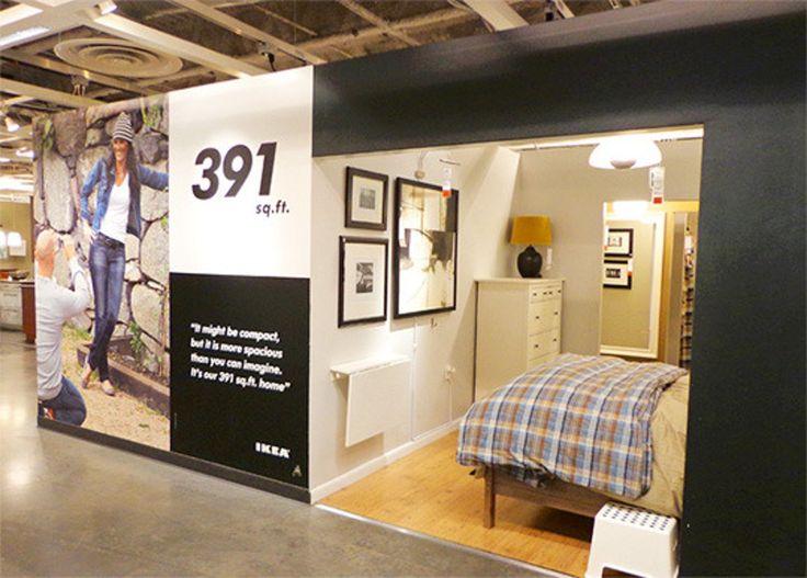 A Look at IKEA Brooklyn's Tiny 391-Square-Foot Model Apartment — Inhabitat
