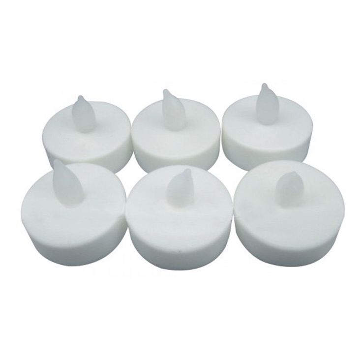 Yosemite Home Decor Home Accent LED Tealight Candles - Set of 6 - YCANTE01