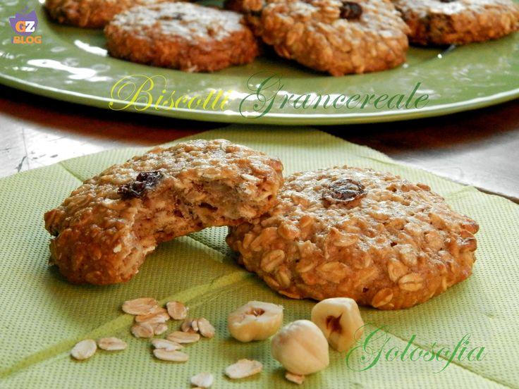 Biscotti Grancereale fatti in casa, semplici, ricchi di gusto ed energia! per una sana colazione..;)