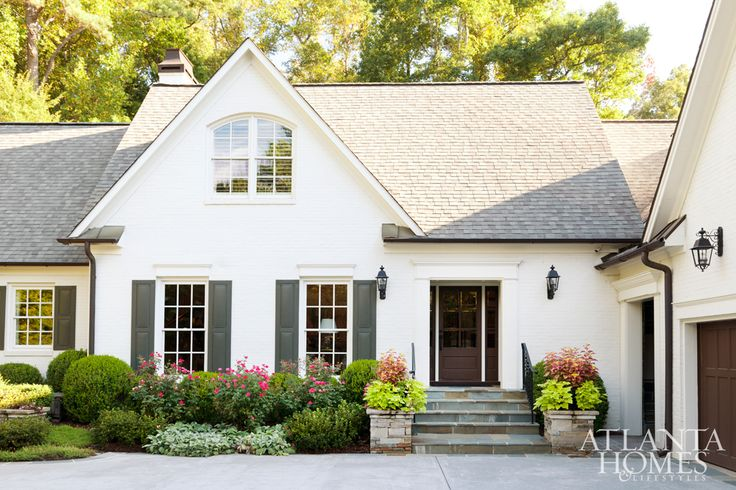 1000 Images About Home Exterior On Pinterest House Plans French Country House Plans And