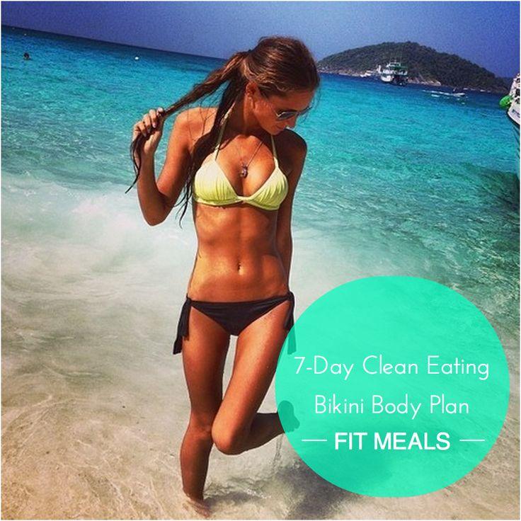 how to get a bikini body in 5 days