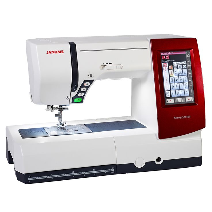 The Janome Memory Craft 9900 - for more info visit www.janome.com.au