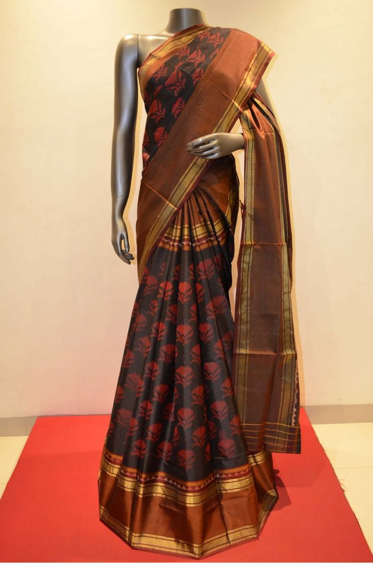 Grand Designer Stylish Patola Silk Saree