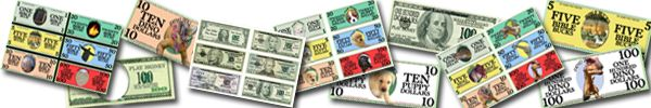 Print free bible bucks for your class.  Great incentive for kids!