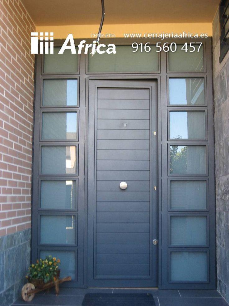Las 25 mejores ideas sobre puertas de hierro en pinterest for Puertas para patios modelos