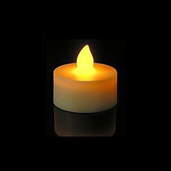 Свечи 12 шт. мерцание непламено из светодиодов Tealight чай свет батарейках свадьба декор ну вечеринку декор огни