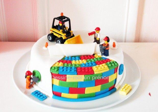 ... De Lego sur Pinterest  gâteau à thème Lego, Anniversaire et Fêtes