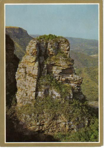 Baboon's Castle in the Oribi Gorge Nature Reserve, KwaZulu-Natal.