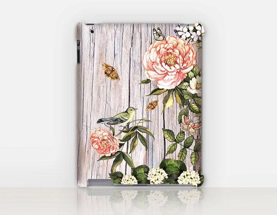 Vintage-Wood iPad Case For  iPad 2 iPad 3 iPad 4 and iPad