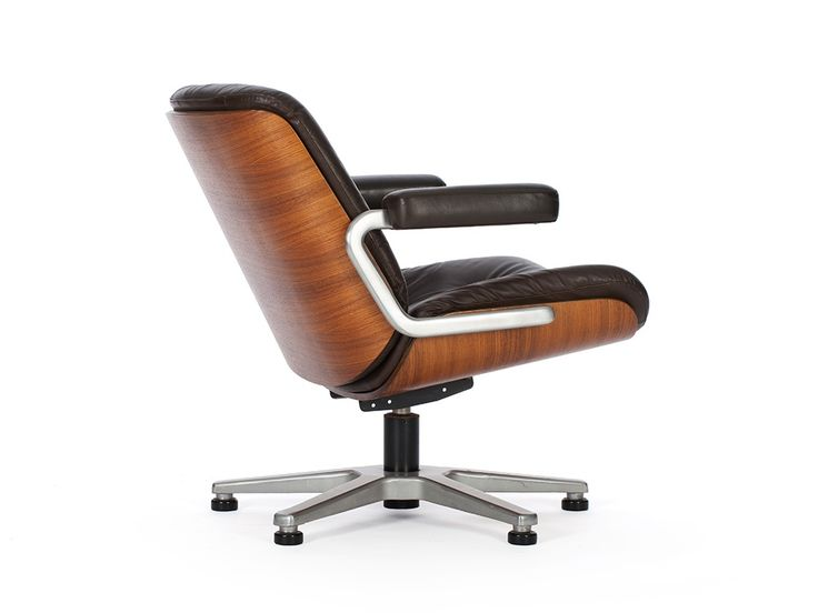 Martin Stoll For Giroflex Switzerland 1970s Rosewood