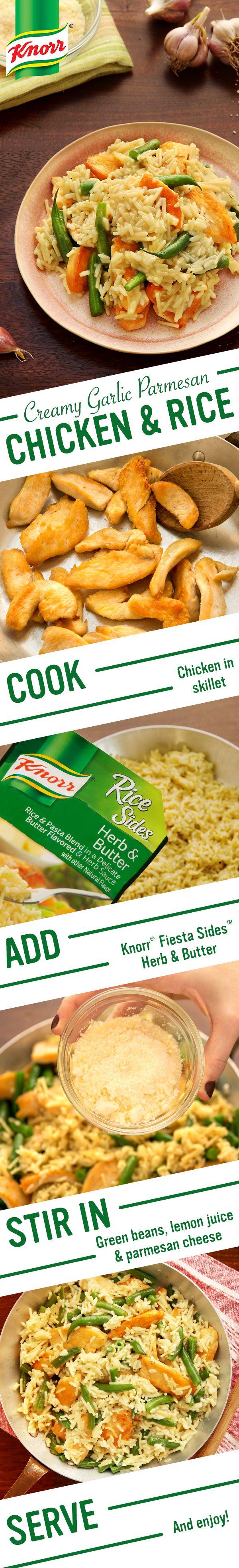 Ciao Knorr S Delicious Creamy Garlic Parmesan Chicken