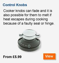 Cooker knobs from only £5.99 at Buyspares.co.uk