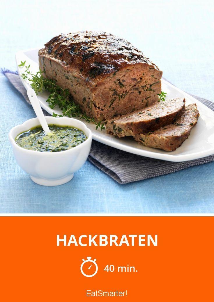 Hackbraten – super easy, da der Ofen die Arbeit erledigt!
