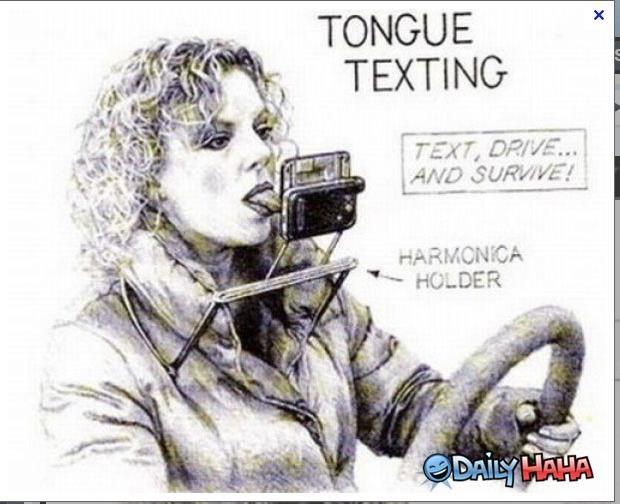 Tongue Texting