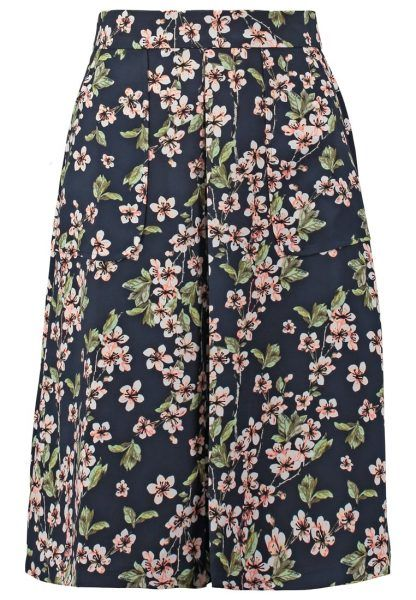 mint&berry Falda acampanada navy blazer ideal 😃😍