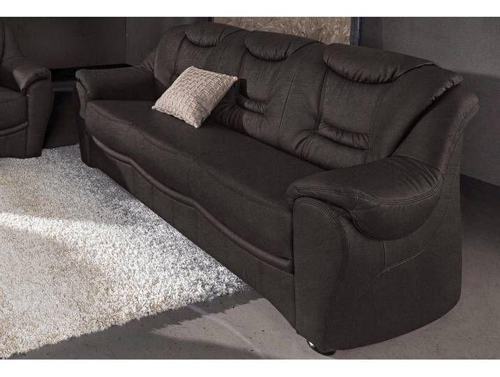 Sit More 3 Sitzer Sofa Schwarz Komfortabler Federkern Hoher Sitzkom Sofa Furniture Couch
