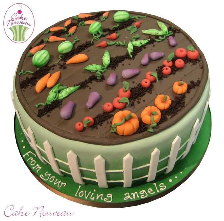 Cake Decorating Gardeners Road : 37 best ideas about gateaux jardinage on Pinterest Cute ...