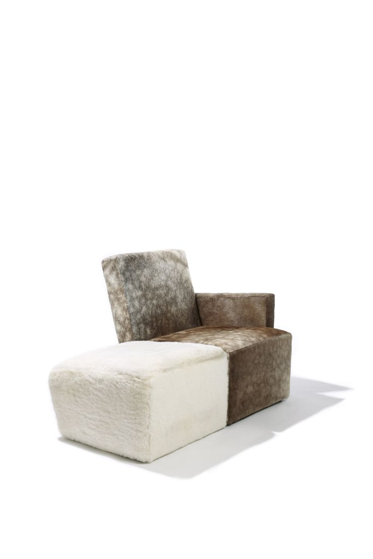 Petit Frank armchair and ottoman, Design by Hervé Langlais