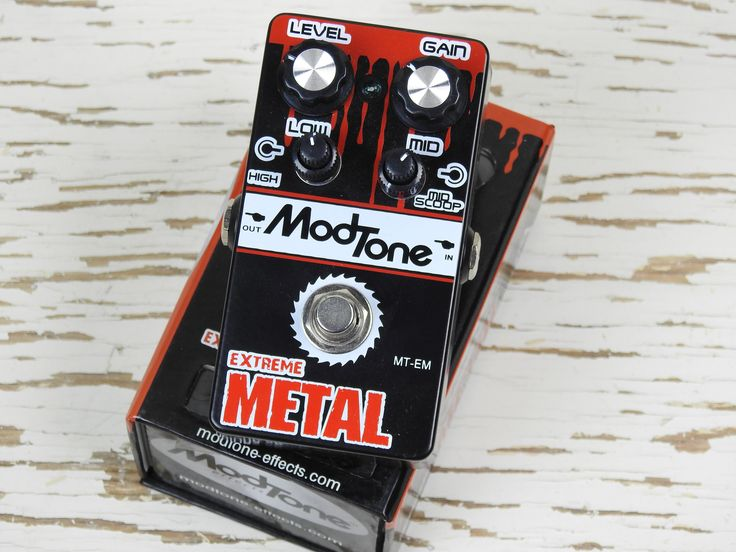 Used: (NOS) ModTone Effects Extreme Metal Distortion Pedal