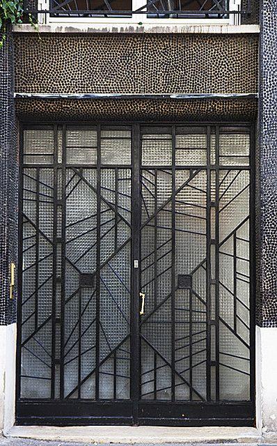 Deco door.