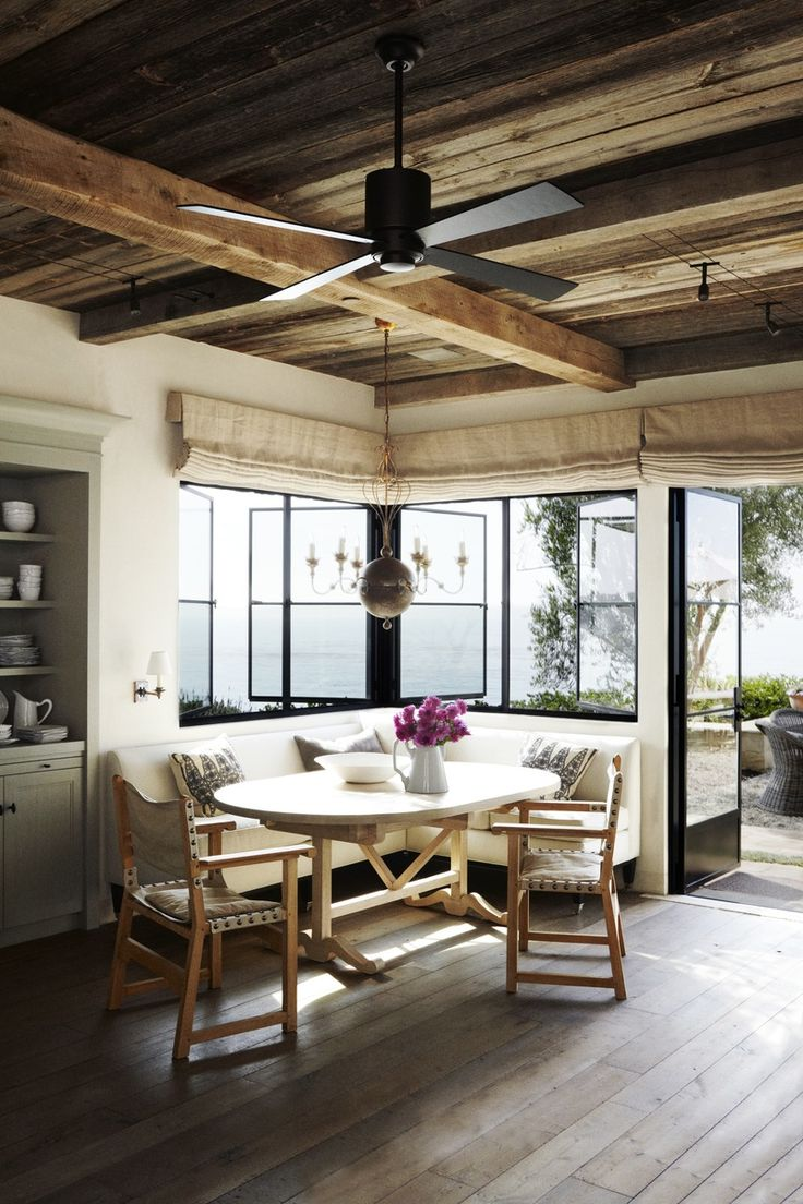 This Sun Drenched Breakfast Nook Is The Perfect For A Friday Morning ☀ So  Serene! Happy Friday Everyone! Design By