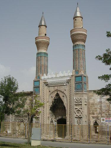 Sivas - Gök medrese built in 1271 by Izzeddin keykhavur (seljuk period)