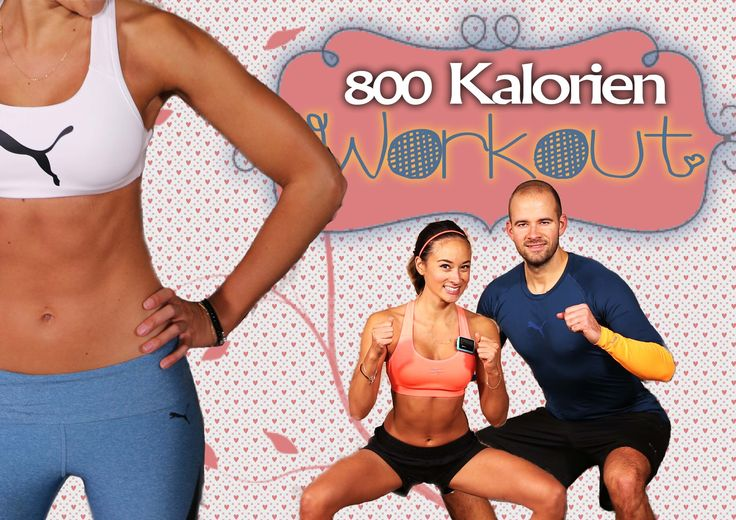 60 Min Workout für Zuhause ohne Geräte - 800 Kalorien verbrennen - Mit A...