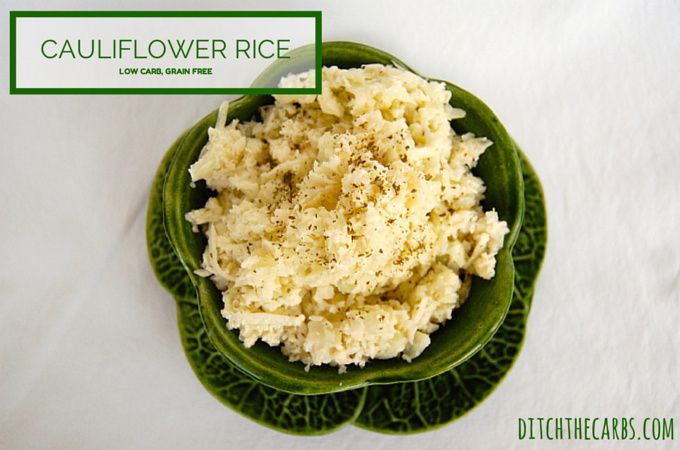 This has to be the easiest and tastiest recipe for Cauliflower Rice. Incredibly low in carbs, packed with nutrition, Vit C and fibre. Try it tonight.