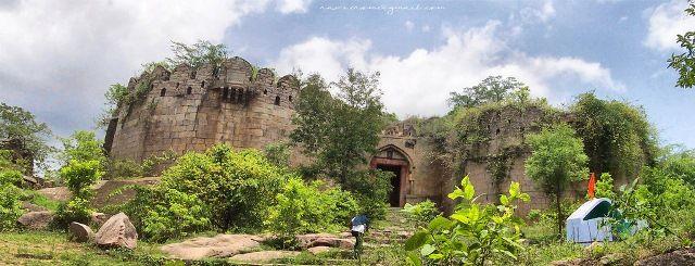 Medak Fort built by Pratapa Rudra of Kakatiya Dynasty