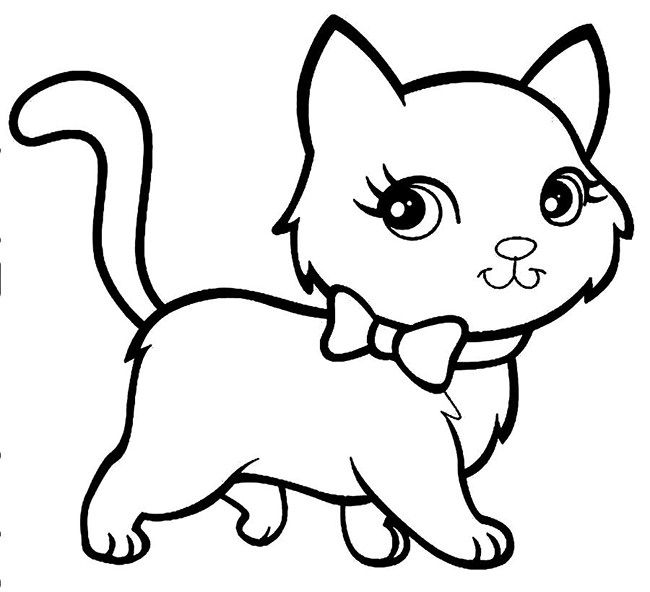 60 Cat Shape Templates Crafts Colouring Pages Cat Coloring