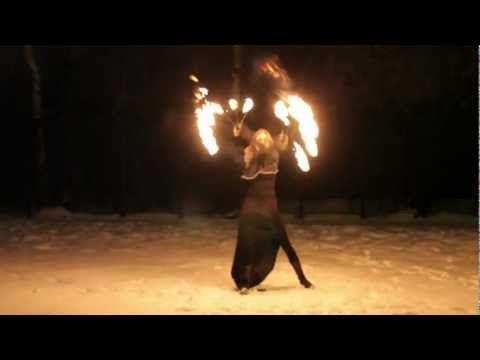▶ Fire Fans Mariya Prokazina - YouTube