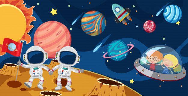 Related Image Nave Espacial Dibujo Dibujos Del Espacio Illustration