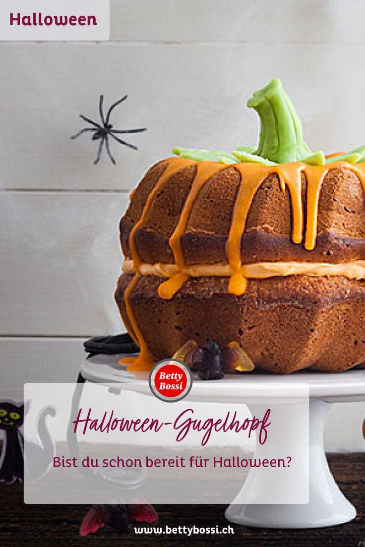 HalloweenGugelhopf Rezept Gugelhopf, Kuchen rezepte