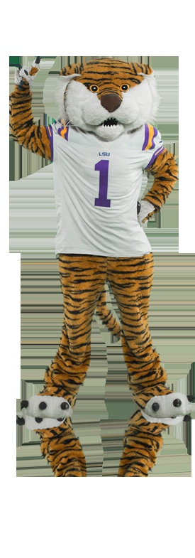 2012: Mike the Tiger is LSU's number one fan, and makes an appearance at nearly every LSU sporting event. Vote this entertaining tiger Mascot of the Year on www.capitalonebowl.com or tweet #CapitalOneMike.