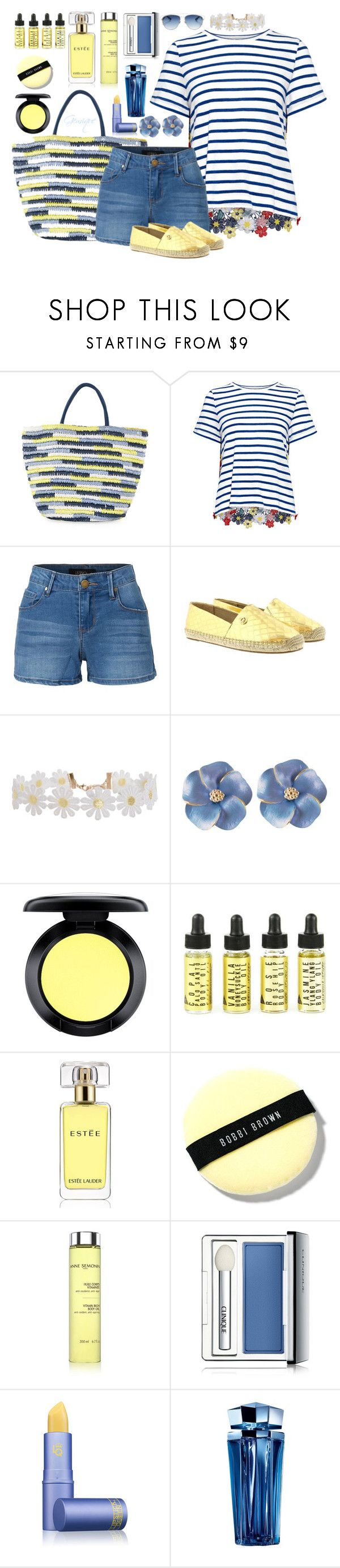 """""""Summer, Here I Come"""" by gemique ❤ liked on Polyvore featuring Neiman Marcus, Sea, New York, LE3NO, Michael Kors, Humble Chic, MAC Cosmetics, Estée Lauder, Bobbi Brown Cosmetics, Anne Semonin and Clinique"""