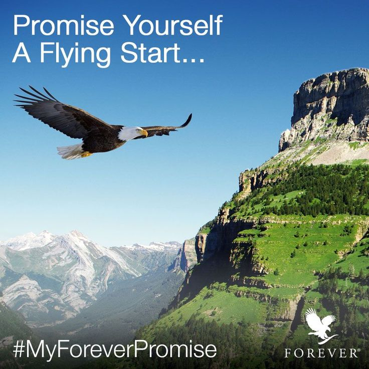 Are you ready for a flying start of 2018? Make a promise to reach your goals! #Forever #ForeverOpportunity #goals #businessgoals