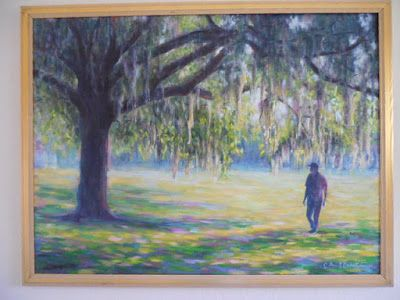 Lafayette Square Savannah 30x40 Landscape Daily Painting With Images Yellow Artwork Original Oil Painting Painting