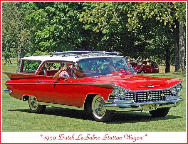 1959 Buick LeSabre Station Wagon