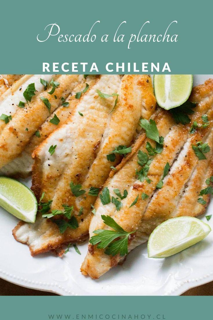 Pescado A La Plancha En Mi Cocina Hoy Receta Como Cocinar Pescado Pescado A La Plancha Recetas De Pescado Al Horno