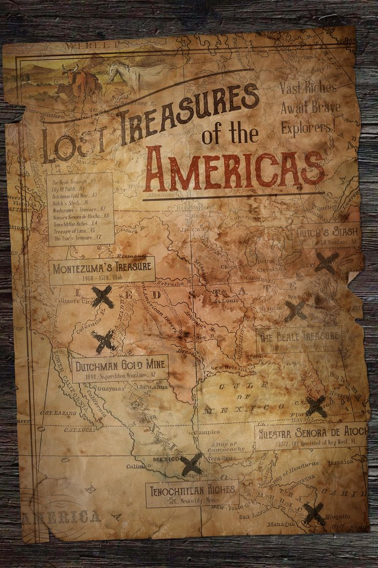 simple treasure maps vintage - photo #23