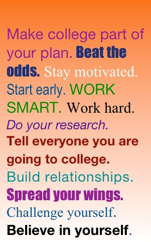 how to become more motivated in college